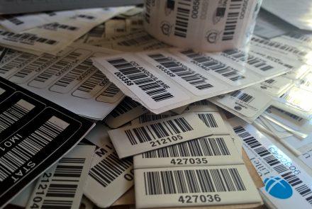 Etiquettes inventaire